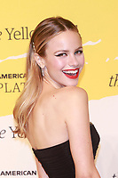 BROOKLYN, NY - SEPTEMBER 10: Halston Sage at The Yellow Ball at The Brooklyn Museum in New York City on September 10, 2018. Credit: Diego Corredor/MediaPunch<br /> CAP/MPI99<br /> &copy;MPI99/Capital Pictures