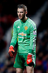 David De Gea of Manchester United - English Premier League - Manchester Utd vs Chelsea - Old Trafford Stadium - Manchester - England - 28th December 2015 - Picture Simon Bellis/Sportimage