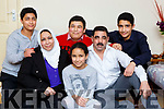 The Alsaleh family l-r: Mahmood, Salwa, Mohamad, Rawan, Omran and Ahmed who are living in Killarney