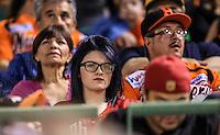 Aficionados , durante partido3 de beisbol entre Naranjeros de Hermosillo vs Mayos de Navojoa. Temporada 2016 2017 de la Liga Mexicana del Pacifico.<br /> © Foto: LuisGutierrez/NORTEPHOTO.COM