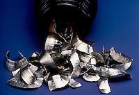 VANADIUM<br /> Sample of Vanadium<br /> The element Vanadium (V) has an atomic weight of 50.9415 and is atomic number 23.