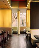 AUSTRIA, Vienna, interior of restaurant Osterreicher im MAK, Museum of Applied Arts