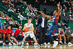 DENTON TEXAS, January 6: University of North Texas Mean Green Men's Basketball v Florida Atlantic University at the Super Pit in Denton on January 25, 2018 (Photo Rick Yeatts Photography/Colin Mitchell)