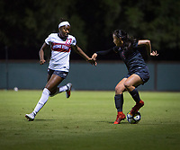 STANFORD, CA - August 10, 2018: Michelle Xiao at Laird Q. Cagan Stadium. The Stanford Cardinal defeated the Fresno State Bulldogs 4-0.