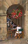 Cafe, Buxton, Derbyshire, England