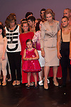 20.09.2012. Queen Sofia of Spain, accompanied by the mayor of Madrid Ana Botella,  the Minister of Health, Social Services and Equality Ana Mato and the Foundation ONCE president, Miguel Carballeda, attend the inauguration of the IV Biennial of Contemporary Art Foundation ONCE, in the Conde Duque Cultural Centre in Madrid. In the image Ana Botella and  Queen Sofia (Alterphotos/Marta Gonzalez)