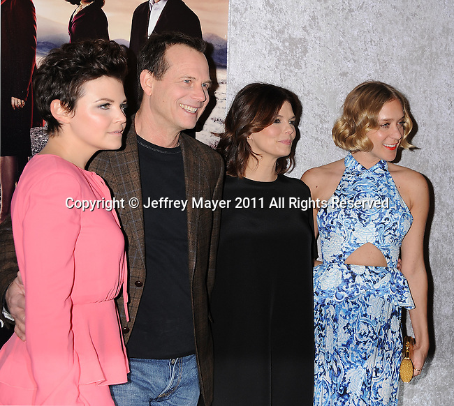 """LOS ANGELES, CA - January 12: Ginnifer Goodwin, Bill Paxton, Jeanne Triplehorn and Chloe Sevigny attend HBO's """"Big Love"""" Season 5 party at the Directors Guild Of America on January 12, 2011 in Los Angeles, California."""