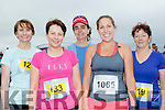 Girls Aloud<br /> ---------------<br /> Half marathon ladies about to start the 'Half on the Head' in Ballyheigue last Saturday were L-R Annette Grealish, Siobhan Barrett, Caitlin Flanagan and Marie Ward.