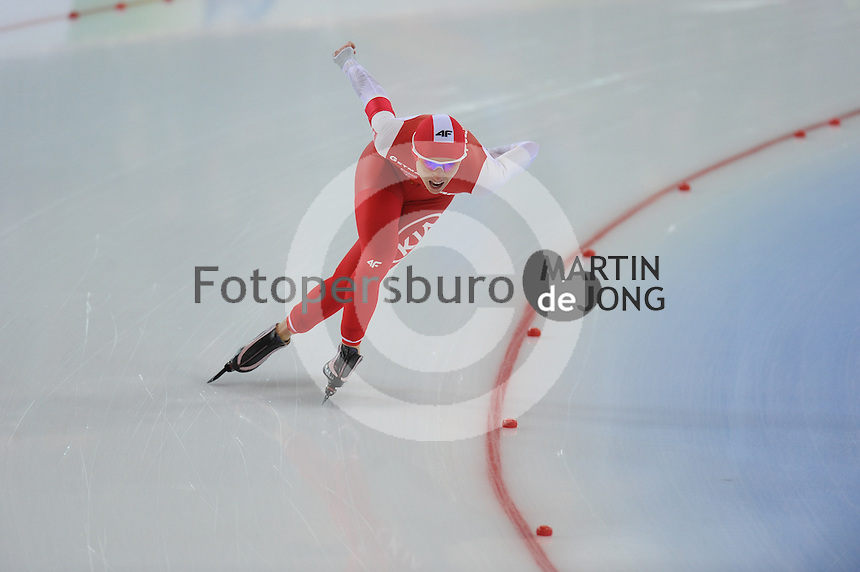 SPEED SKATING: HAMAR: Vikingskipet, 04-03-2017, ISU World Championship Allround, 3000m Ladies, Luiza Zlotkowska (POL), ©photo Martin de Jong