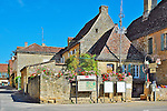 The bastide of Domme, located on the Dordogne River in the Périgord region of France.