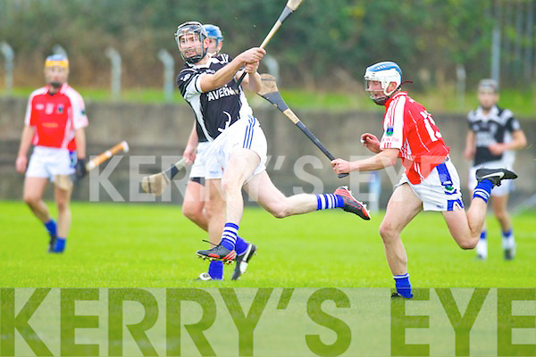 Darren Dineen Saint Brendans in Action against TJ O'Connell Ballina in the Munster Intermediate Club Semi-Final at Nenagh on Sunday.