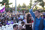 Spanish politician Juan Carlos Monedero during the closing of the electoral campaign of Unidos Podemos. 24,06,2016. (ALTERPHOTOS/Rodrigo Jimenez)