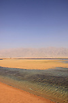 Israel, the Salt pools in the Arava
