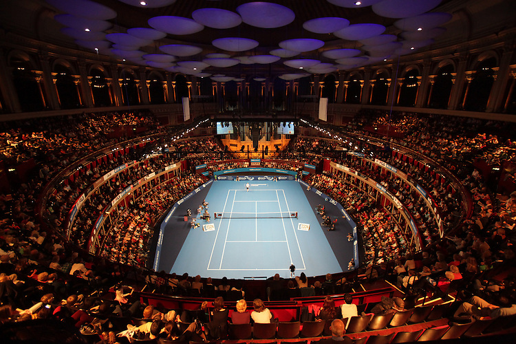 Aegon  ATP Champions Tour Singles  Royal Albert Hall  3rd December 2011