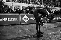 Sophie De Boer (NED/Breepark) post-finish<br /> <br /> Women's race<br /> Superprestige Gavere / Belgium 2017