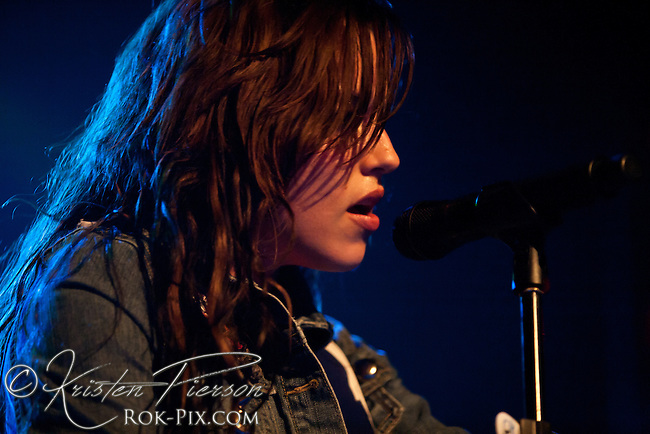 Halestorm performing at Lupo's in Providence on May 25, 2011