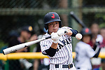 #5 Hiruta Natsuki of Japan bats during the BFA Women's Baseball Asian Cup match between Japan and Hong Kong at Sai Tso Wan Recreation Ground on September 5, 2017 in Hong Kong. Photo by Marcio Rodrigo Machado / Power Sport Images