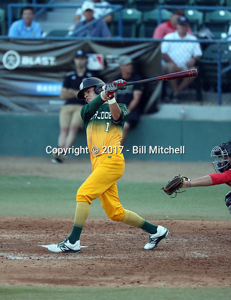 Brennan Rozell plays in the 2017 Area Code Games on August 6-10, 2017 at Blair Field in Long Beach, California (Bill Mitchell)