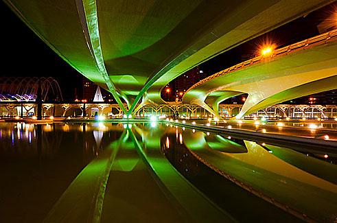 """""""Ciudad de las Artes y de las Ciencias"""", Valencia, Spain."""
