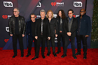 Bon Jovi at the 2018 iHeartRadio Music Awards at The Forum, Los Angeles, USA 11 March 2018<br /> Picture: Paul Smith/Featureflash/SilverHub 0208 004 5359 sales@silverhubmedia.com