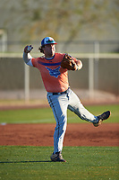 Tommy White during the Under Armour All-America Tournament powered by Baseball Factory on January 18, 2020 at Sloan Park in Mesa, Arizona.  (Zachary Lucy/Four Seam Images)