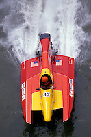 #47 USFORA Formula One (F1) Tunnel Boats, Cincinnati, Ohio 1989