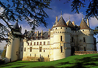 Loire Valley, castle, France, Chaumont, Loire Castle Region, Europe, Chateau de Chaumont a 15th century castle in the Loire Valley Region.
