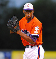 10 October 2007:  The Clemson University baseball team played an intrasquad game Wednesday, Oct. 10, 2007 in Greenville as part of the West End Field Fall Classic.