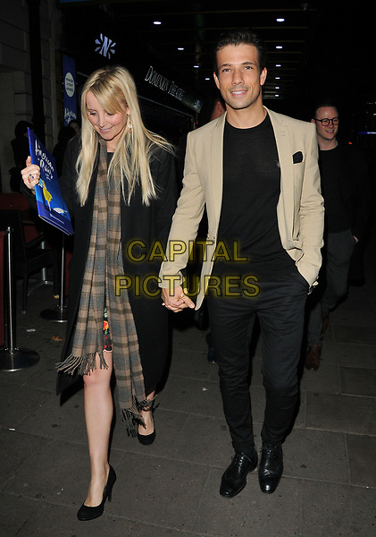 Carley Stenson and Danny Mac at the &quot;An American in Paris&quot; press night, Dominion Theatre, Tottenham Court Road, London, England, UK, on Tuesday 21 March 2017.<br /> CAP/CAN<br /> &copy;CAN/Capital Pictures