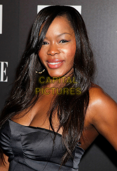 "GOLDEN BROOKS.Armani Exchange and ELLE Present ""Disco Glam"" With A Performance By Dragonette held at the A/X Robertson Store, Los Angeles, CA, USA..May 25th, 2010.headshot portrait black .CAP/ADM/MJ.©Michael Jade/AdMedia/Capital Pictures."