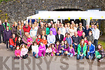 The large crowd who turned up for the blessing of the new boats and pier at Muckross Rowing club on Sunday....