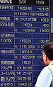 Tokyo stock market on May 7, 2014