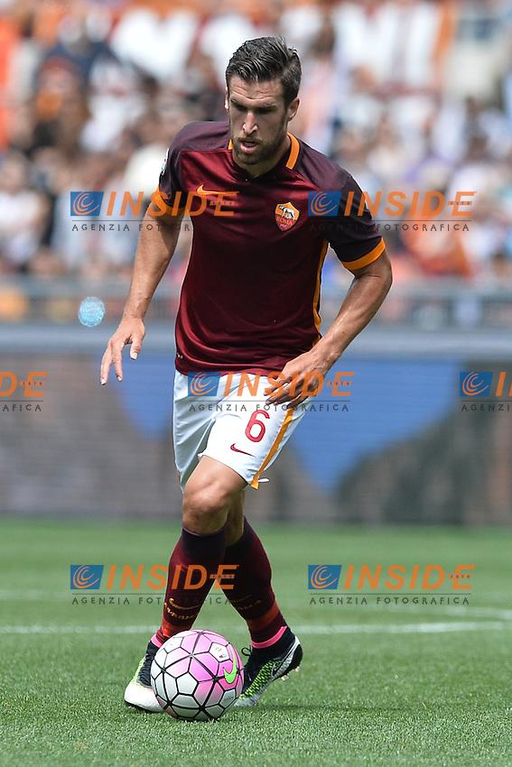 Kevin Strootman Roma.<br /> Roma 8-05-2016  Stadio Olimpico<br /> Campionato Serie A,<br /> AS Roma - Chievo<br /> Foto Antonietta Baldassarre / Insidefoto