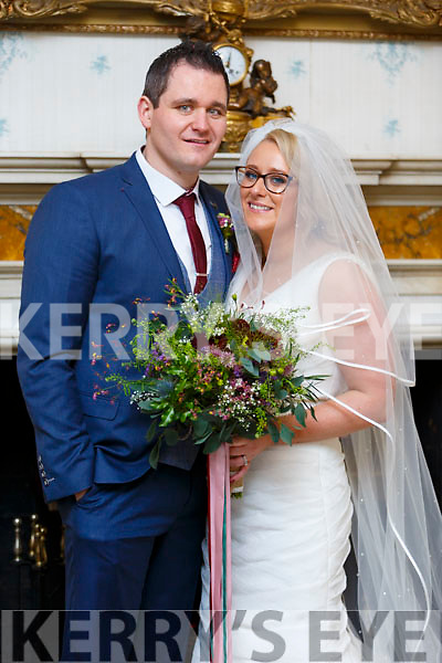 The wedding of James Fairbrother and Michelle O'Sullivan and reception was in Ballyseedy Hotel.