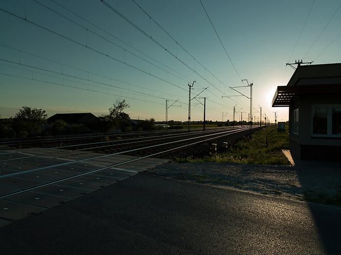 Der Bahndamm bei Borowo war während der Schlacht bei Lodz hart umkämpft.