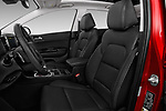 Front seat view of a 2017 KIA Sportage EX 5 Door SUV front seat car photos