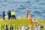 Gardai and Ballyheigue CRBI search at low tide for a missing Chinese man off the coast.
