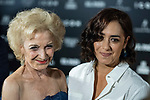 Maria Issasi and Marisa Paredes in the photocall before the ICON magazine awards ceremony<br /> October 9, 2019. <br /> (ALTERPHOTOS/David Jar)