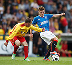 Lewis Macleod with Peter Innes