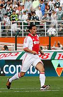 S&Atilde;O PAULO,SP, 14 JANEIRO 2011 - AMISTOSO PALMEIRAS X AJAX (HOL)<br /> Bouy jogador do Ajax durante  partida entre as equipes do Palmeiras X Ajax (hol) realizada no  Est&aacute;dio Paulo Machado de Carvalho (Pacaembu) na zona oeste de S&atilde;o Paulo, neste Sabado (14). (FOTO: ALE VIANNA - NEWS FREE).