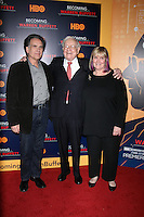 www.acepixs.com<br /> <br /> January 19 2017, New York City<br /> <br /> (L-R) Peter Buffett, Warren Buffett and Susie Buffett arriving at 'Becoming Warren Buffett' World premiere at The Museum of Modern Art on January 19, 2017 in New York City.<br /> <br /> By Line: Wong/ACE Pictures<br /> <br /> ACE Pictures Inc<br /> Tel: 6467670430<br /> Email: info@acepixs.com<br /> www.acepixs.com