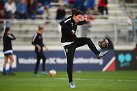 Boyds, MD - Saturday September 30, 2017: Rachel Corsie during a regular season National Women's Soccer League (NWSL) match between the Washington Spirit and the Seattle Reign FC at Maureen Hendricks Field, Maryland SoccerPlex.