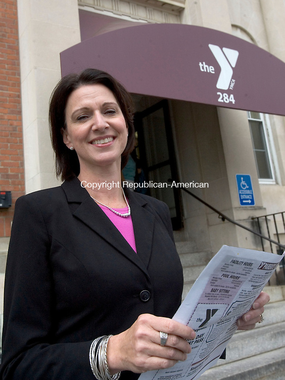 NAUGATUCK CT. 27 September 2013-092713SV02-Sue Talbot, former financial director of the Waterbury YMCA, takes over as CEO of the Naugatuck YMCA. She replaces Bill Kane, who had run the Y for decades.<br /> Steven Valenti Republican-American