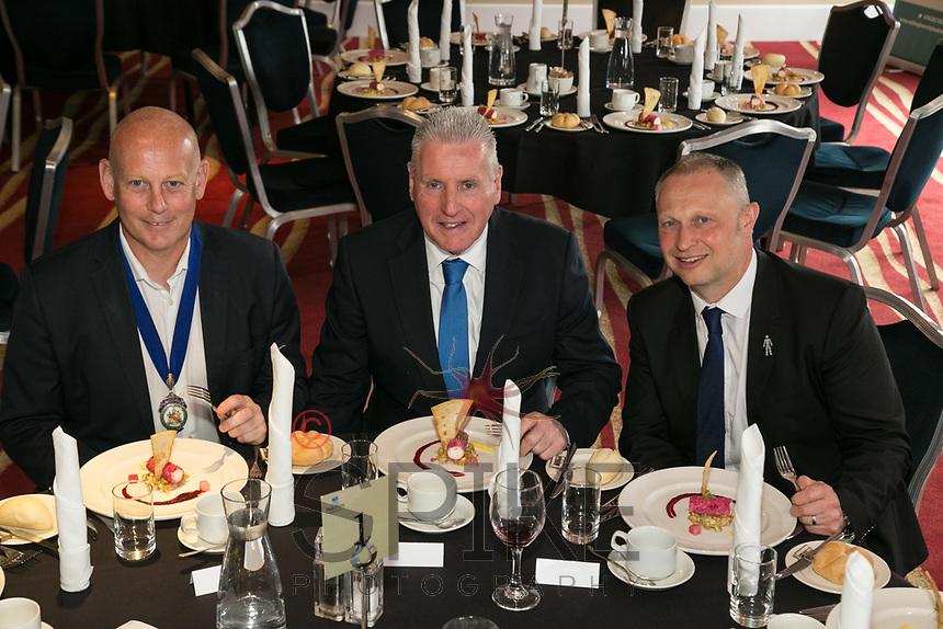 From left are NCBC President Ian Roberts, Speaker Vernon Coaker MP and past President Mark Deakin