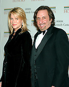 Washington, D.C. - December 2, 2006 -- Alexandra Silver and Ron Silver arrive for the State Department Dinner for the 29th Kennedy Center Honors dinner at the Department of State in Washington, D.C. on Saturday evening, December 2, 2006.  Andrew Lloyd Webber, Zubin Mehta, Dolly Parton, Smokey Robinson and Stephen Spielberg are being honored in 2006 for their contribution to American culture..Credit: Ron Sachs / CNP