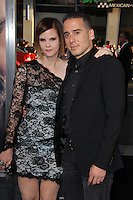 """Kirk Acevedo, Kiersten Warren<br /> at """"The Water Diviner"""" Premiere, TCL Chinese Theater, Hollywood, CA 04-16-15<br /> David Edwards/DailyCeleb.Com 818-249-4998"""