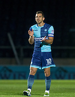 Matt Bloomfield of Wycombe Wanderers during the Friendly match between Wycombe Wanderers and AFC Wimbledon at Adams Park, High Wycombe, England on 25 July 2017. Photo by Kevin Prescod.