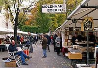 Tweeehandsboeken te koop op het Spui in Amsterdam