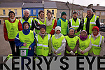 Walking to raise funds for the Kerry Hospice Foundation in Cahersiveen on Friday morning last were front l-r; Cecilia Ring, Mary Murphy, Mildred Casey, Marie O'Shea, Mary O'Shea, Mary O'Shea, Mary Shanahan, back l-r; Mary T.O'Sullivan, Con Curran, Orna Murphy, Laura Murphy, Anne Bowler, Janette Murphy & Christy O'Connell.