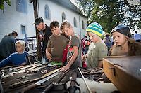 20.9.2014 LENZBURG / AG; MITTELALTERMARKT AM 20. SEPTEMBER 2014 AUF SCHLOSS LENZBURG.<br /> <br /> COPYRIGHT &copy; ZVONIMIR PISONIC
